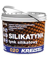 Dekoratyvinis tinkas Silikatputz 020