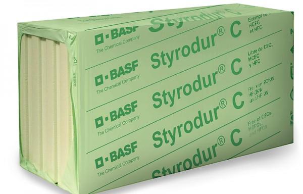 Styrodur® C ekstrudinis polistirenas