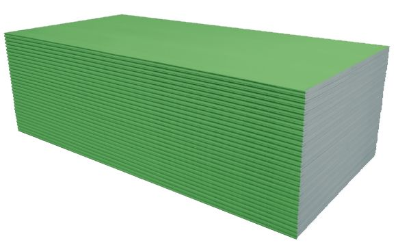 Gipso kartono plokštė žalia Knauf
